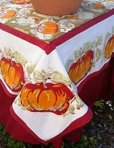 Pumpkin Green/Red Tablecloths