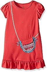 Petit Lem Little Girls Fashionista Nightgown, Melon, 3