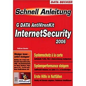 eBook Cover für  Schnellanleitung G DATA Internet Security 2006