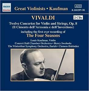 Concertos Op. 8 Incl 4 Seasons