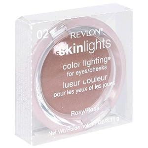 Revlon SkinLights Color Lighting for Eyes/Cheeks, Rosy 02, 0.11 Ounce (3.11 g)