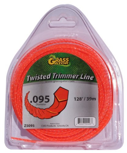 Grass Gator Z5095 Zip String Trimmer Line Pro Small Donut 128-Feet X .095 Packagequantity: 1 Outdoor/Garden/Yard Maintenance (Patio & Lawn Upkeep)