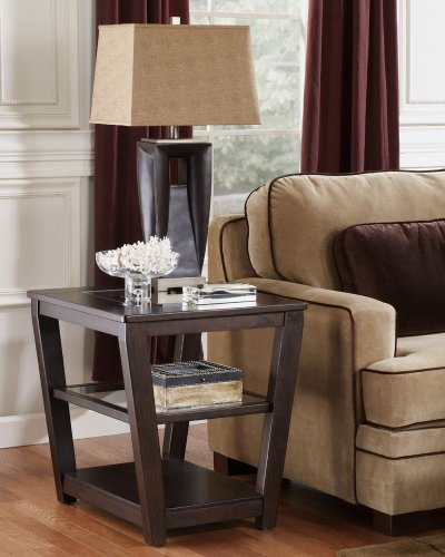 Cheap Caron Square End Table (T472-2)
