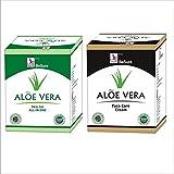 Besure Aloe Vera Skin Gel 100 Gms With Aloe Vera Face Care Cream 100 Gms