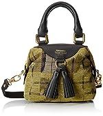 Vivienne Westwood Leopard Tartan Top Handle Bag