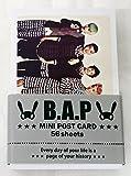 B.A.P BAP - MINI POSTCARD PHOTOCARD SET 56pcs