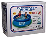 Intex Easy Set 8-Foot-by-30-Inch Round Pool Set