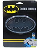 ICUP DC Batman Logo Cookie Cutter, Clear