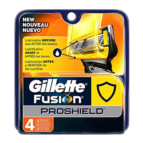 Gillette Fusion Proshield Men's Razor Blade Refills, 4 Count (Fusion Blades 4 compare prices)
