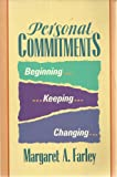 Image of Personal Commitments: Beginning, Keeping, Changing