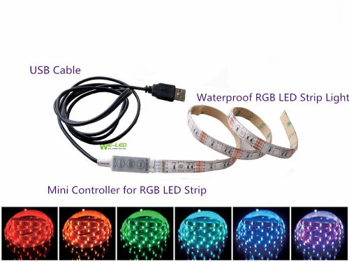 multi-colour-rgb-50cm-197in-led-strip-light-led-tv-background-lighting-kit-with-usb-cable-gerneric-r