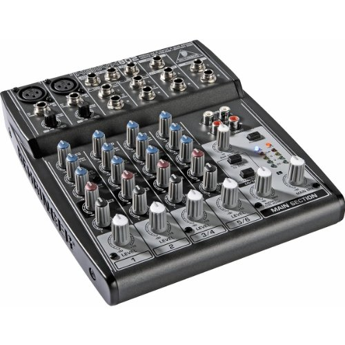 New Behringer | High-Performance Compact Premium 8-Input 2-Bus Mixer, Xenyx802 With British Eqs And Xenyx Mic Preamps front-393069
