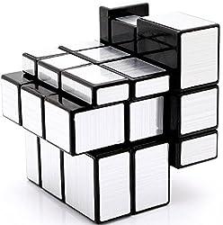 Saffire Silver Mirror Cube