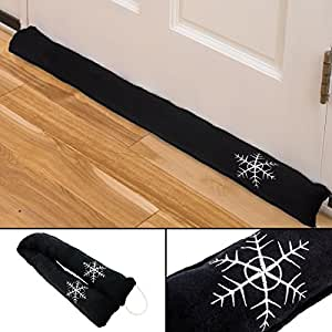 36 draft stopper blocker cool cold air door for Door air blocker