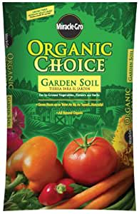Miracle gro organic choice garden soil 1 cubic foot for Organic soil uk