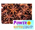 (4 OZ ) 100%ALL Natural- Organic Sun Dried Star Anise ,Star Aniseed by PowerNutri Shop