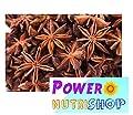 (4 OZ ) 100%ALL Natural- Organic Sun Dried Star Anise ,Star Aniseed by PowerNutri Shop