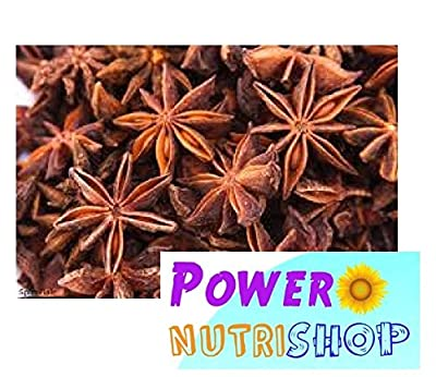 (8 OZ ) 100%ALL Natural- Organic Sun Dried Star Anise ,Star Aniseed by PowerNutri Shop