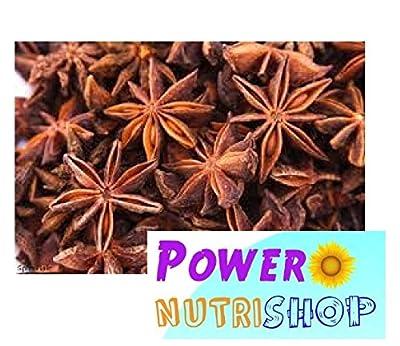 (8 OZ ) 100%ALL Natural- Organic Sun Dried Star Anise ,Star Aniseed by PowerNutri Shop