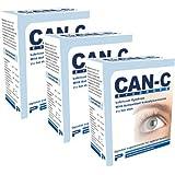 Can-C Eye Drops, Three Boxes: Contains Six (Tamaño: 3 boxes - 6 (5ml) vials)