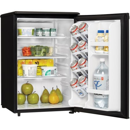 Danby Designer 2.6 cu ft All Refrigerator, Black, perfect fridge for spaces such as dormitory rooms and wet bars (Sub Zero Refrigerator Thermostat compare prices)