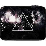 Snoogg STAY RECKLESS 10 To 10.6 Inch Laptop Netbook Notebook Slipcase Sleeve
