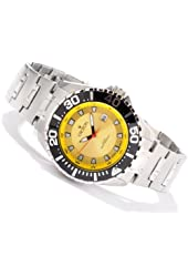Croton Men's Quartz Stainless Steel Bracelet Yellow 44Mm Dial 20 Atm Watch Ca301228ssyl