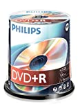 Philips DR4S6B00F - 100 x DVD+R - 4.7 GB ( 120min ) 16x - spindle - storage media