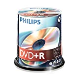 Philips DVD+R, 16x, 100 pi�ces, 4,7GBpar Philips