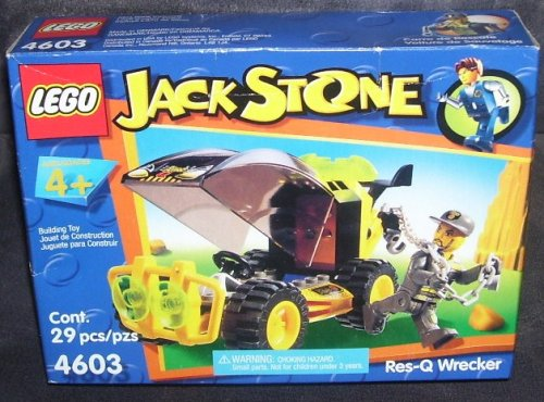 512QaDC8gKL Cheap  Lego JACK STONE RES Q WRECKER Building Toy #4603