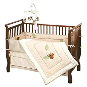 Jolly Jumper Organic Koala Bear Crib Bedding Set Best