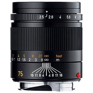 Leica Summarit-M 75mm f/2.5 Camera Lens