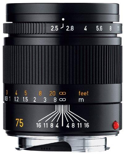 Leica Lens 75mm  f2.5 Black (E46)
