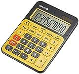 カシオ カラフル電卓 ミニジャストタイプ 10桁 MW-C12A-BY-N スパイスイエロー