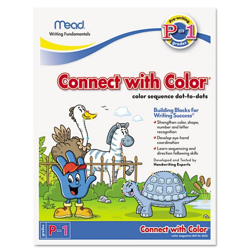 Mead Connect With Color, 10.5 X 8 Inches, 22 Pages (48038) front-730254