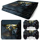 ZOOMHITSKINS PS4 Slim Skin Decal Sticker L.O.U.S Custom Design + 2 Controller Skins Set