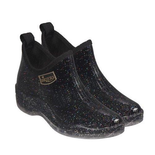 Briers B2047 - Stivaletti a caviglia in PVC, motivo Polvere di stelle, per giardinaggio, taglia 41