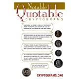 Notable Quotable Cryptograms