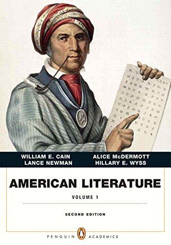 American Literature, Volume 1 Plus NEW MyLiteratureLab -- Access Card Package (2nd Edition)
