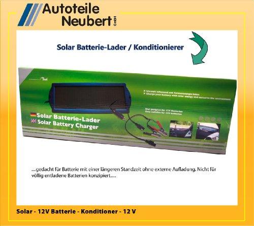 Solar 12V Batterie Ladegerät / Konditionierer
