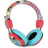 Vieta Custo Barcelona Over Ear DJ-Surround-Kopfhörer Stereo-Ohrhörer (Leder, weiche Bügel-und Ohr-Polster, verstellbar) weiß