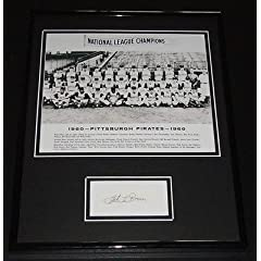 Joe L. Brown Signed Framed 11x14 Photo Display 1960 Pittsburgh Pirates GM