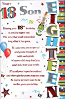 18th Birthday Son Card - You're 18 Son