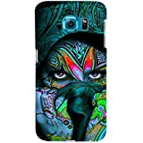 For Samsung Galaxy S6 Famous Girl ( Famous Girl, Face, Nice Face, Beautiful Face ) Printed Designer Back Case Cover By TAKKLOO