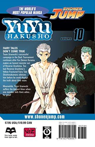 YU YU HAKUSHO GN VOL 10 (Yuyu Hakusho (Graphic Novels))