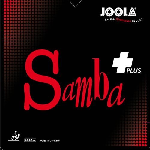 Joola Belag Samba Plus, 1,8 mm, rot