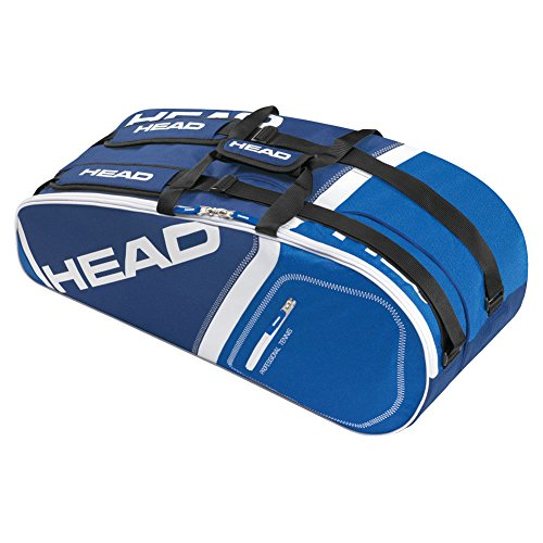 Head Core 6r Combi Tennis Bag Navy and Royal