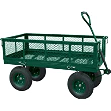 Sandusky Lee CW Steel Crate Wagon, Green