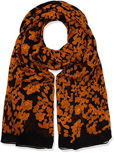 kipling-womens-viscose-scarf-multicoloured-floral-metallic-one-size