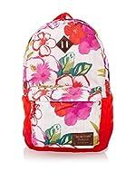 Burton Mochila Kettle Vintage Aloha (Rojo / Rosa / Blanco)